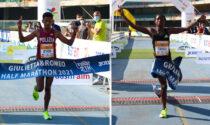 Eyob Faniel e Angela Tanui hanno vinto la 14esima Giulietta&Romeo Half Marathon
