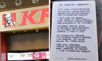 """Kfc pronto ad aprire in Piazza Erbe ma impazza la protesta: """"No al galeto merican"""""""