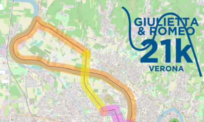 Giulietta&Romeo Half Marathon e Avesani Monument run: ecco i provvedimenti viabilistici