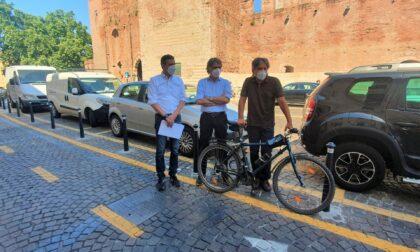 Terminata la pista  ciclabile che unisce Porta Palio a Castelvecchio, attesa da 15 anni
