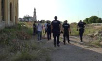 Nuovo sgombero all'ex Tiberghien: sorprese quattro persone