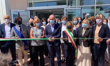 Zaia ha inaugurato la nuova sede dell'Istituto Zooprofilattico a Buttapietra