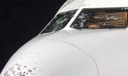 Paura in volo, Airbus costretto all'atterraggio a Verona a causa dei danni della grandine