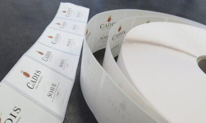 Cantina di Soave, 145 tonnellate di supporti per etichette riciclati in cinque anni