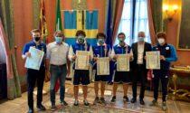 Premiati i campioni del mondo di canoa e rafting e il campione italiano di biliardo