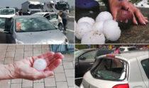 Grandine che rompe i vetri delle auto: è la seconda volta in poche settimane