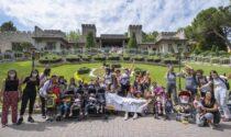 Bambini e ragazzi di Fondazione Arché a Gardaland per una giornata di divertimento