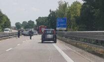 Auto ribaltata sulla Transpolesana 434 all'altezza di Vangadizza: ferito un 27enne