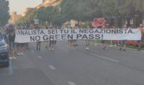"""""""Libertà, no green pass"""": torna la protesta in Piazza Bra"""