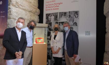 La Sacra Famiglia di Maria Callas restituita per una sera all'Arena di Verona
