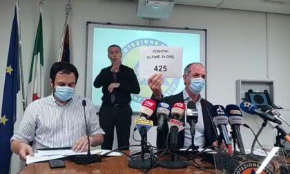 """Covid, Zaia: """"Da domani stop ai tamponi gratis, disponibili un milione di vaccini""""  +425 positivi  Dati 9 agosto 2021"""