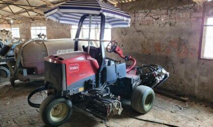 Durante un controllo all'azienda agricola spunta un trattore rubato del valore di 45mila euro
