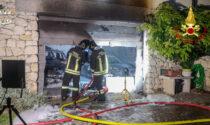 Incendio in un garage a Negrar: distrutte le auto della famiglia