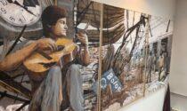 All'università un murale dedicato a Davide Caprioli, vittima veronese della strage di Bologna