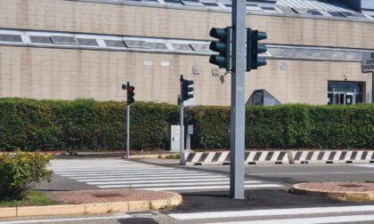 Attivato nuovo semaforo per non vedenti in Via Sommacampagna