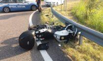 Incidente a Boschi Perette: scontro tra auto e moto, due feriti