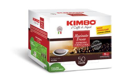 La nuova formula bar Kimbo Macinato Fresco rende il caffè più intenso e cremoso