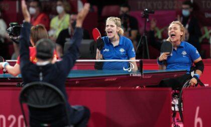 Michela Brunelli torna sul podio con la medaglia di bronzo nel tennistavolo