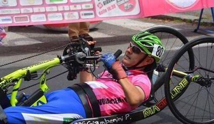 Tragico schianto con la handbike, muore il campione Andrea Conti