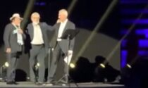 """Sgarbi e Al Bano costretti a lasciare il palco al concerto omaggio a Battiato: """"Fascisti"""""""