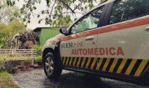 Cade da solo in bicicletta, ferito gravemente ciclista a Palazzolo