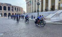 Fede, sport e cultura: partito un pellegrinaggio in bici fino a Roma
