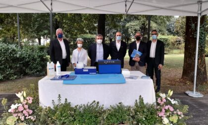Donata una doccia idro-molecolare per persone prive di mobilità alla fondazione Pia Opera Ciccarelli