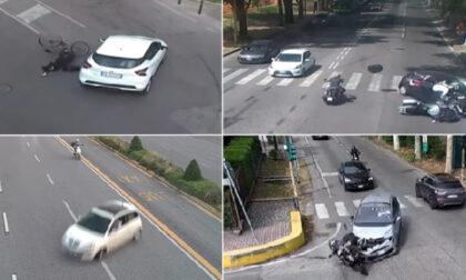 Car crash compilation: video svela la prima causa degli incidenti stradali