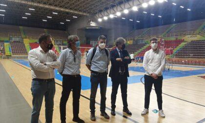 """Nuovo impianto di illuminazione """"smart"""" all'Agsm Forum per lo sport e i grandi eventi"""