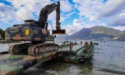 Ritrovata una bomba della Seconda Guerra Mondiale sui fondali del lago di Garda