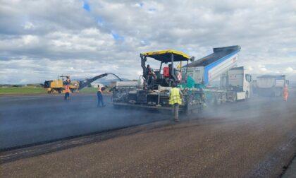 Terminati i lavori sulle infrastrutture di volo all'aeroporto Catullo