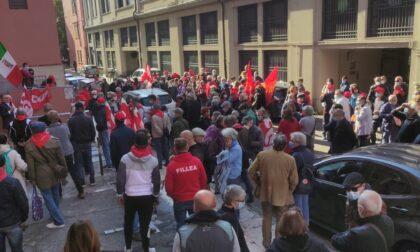 Presidio sede Cgil Verona: grande solidarietà, reazione pacifica ma ferma del sindacato