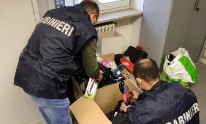Rubavano nei centri commerciali e rivendevano la refurtiva online: recuperata merce per 30mila euro