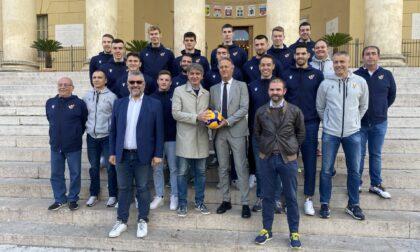 Verona Volley a Palazzo Barbieri in vista dell'inizio del campionato di Serie A