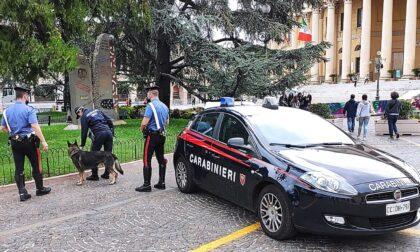 Si libera dello stupefacente alla vista dei Carabinieri: pusher nei guai