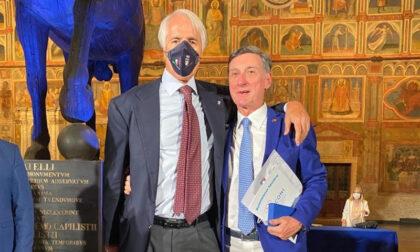 Coach Marcelletti ha ricevuto la Palma d'oro, massimo riconoscimento del Coni per i tecnici